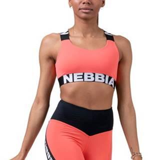 Nebbia Power Your Hero ikonická športová podprsenka 535 lososová variant: L
