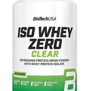 Iso Whey ZERO Clear - Biotech USA 1362 g Lime