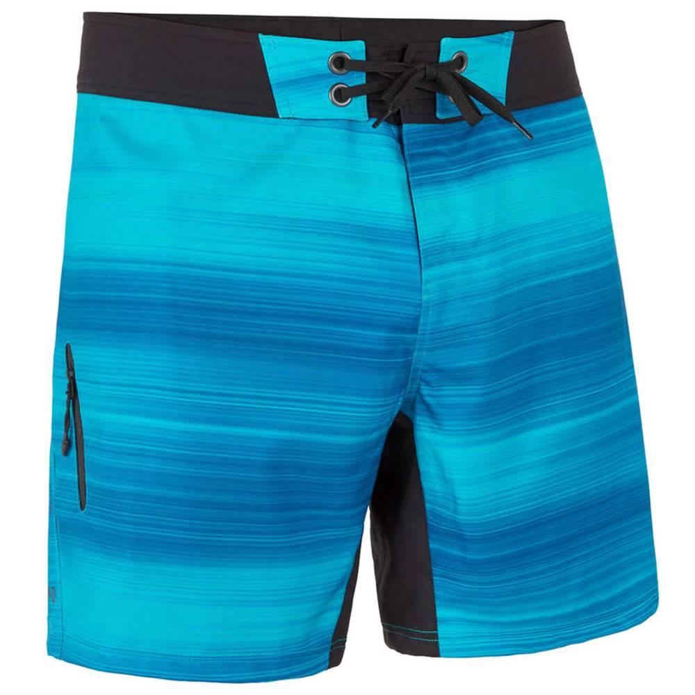 OLAIAN OLAIAN Surferské šortky 500 Fast Blue