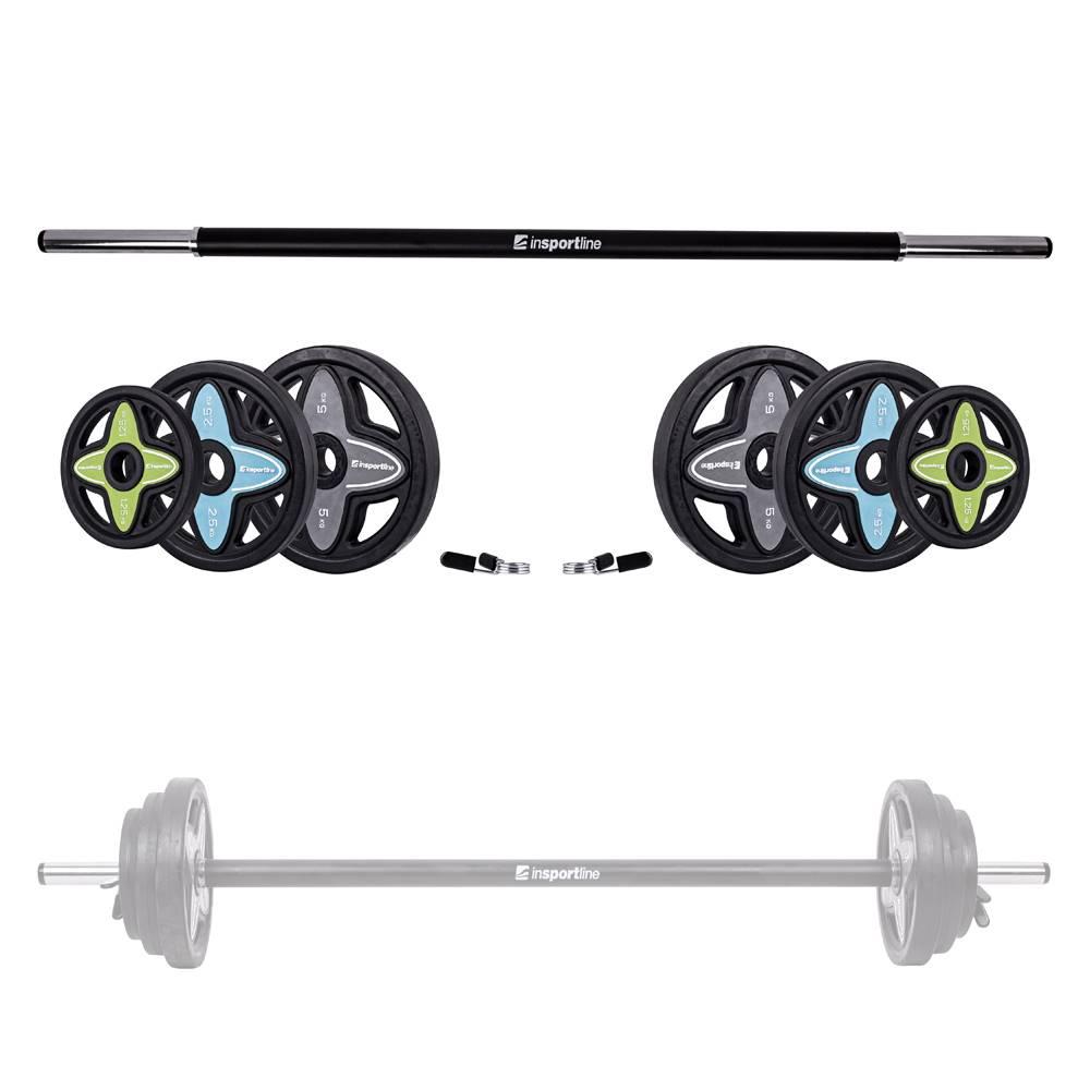 Insportline Činkový set inSPORTline Pumpstar 2 - 20 kg