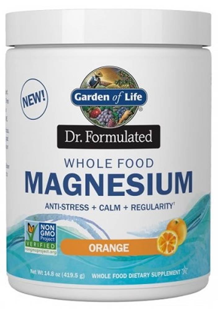 Garden of life Garden of Life Magnesium Dr. Formulated - Horčík 419,5 g variant: pomaranč