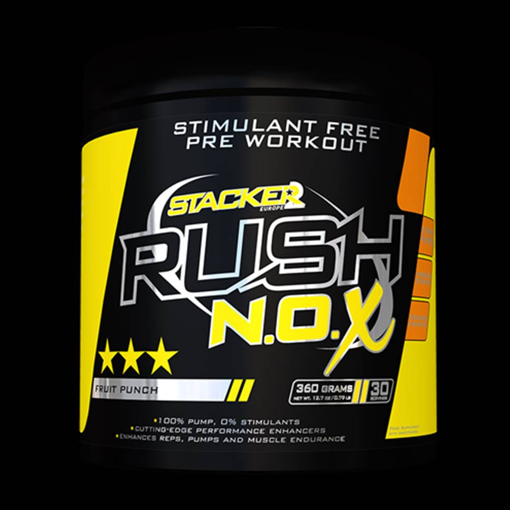 Stacker2 Stacker2 Predtréningový stimulant Rush N.O.X 360 g tropical