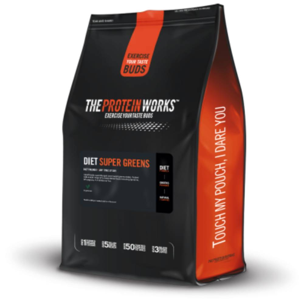 The Protein Works TPW Diet Super Greens 250 g tropical punch