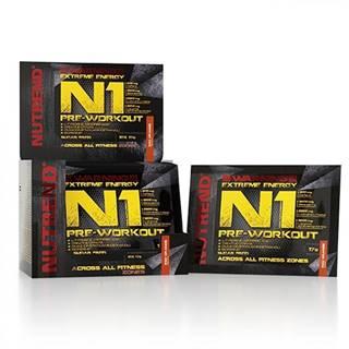 Pre-workout zmes Nutrend N1 10x17 g červený pomaranč