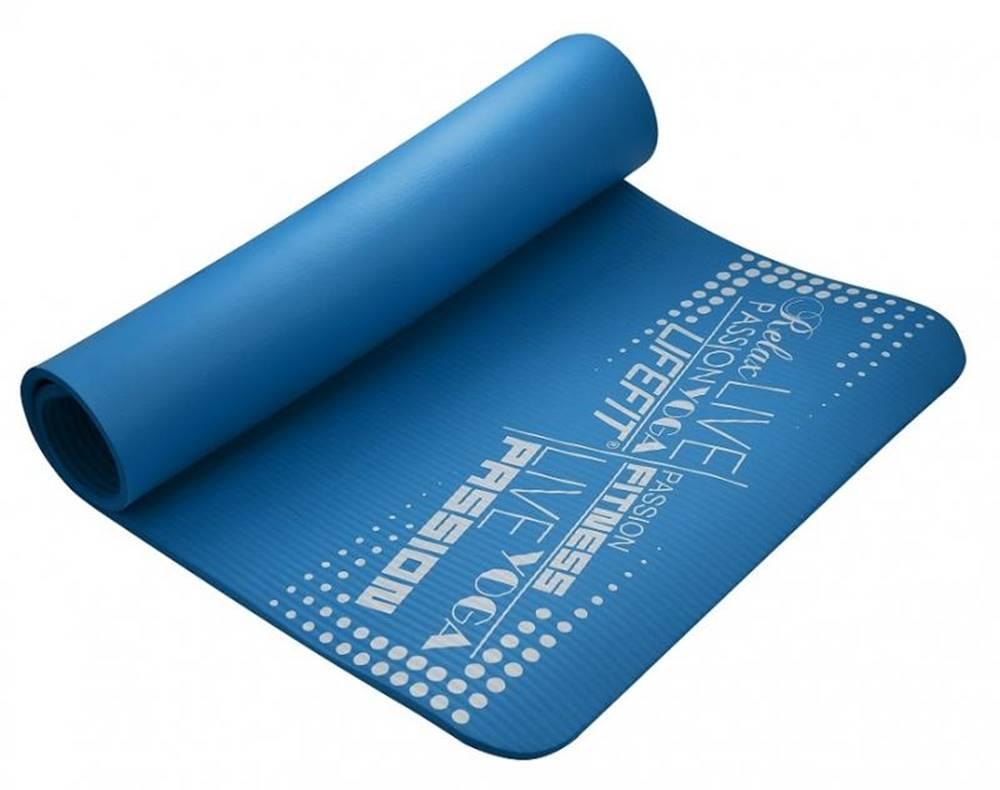 Lifefit Podložka LIFEFIT YOGA MAT EXKLUZIV , 100x58x1cm, modrá
