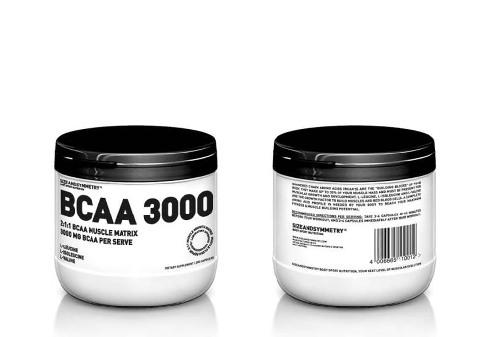 Sizeandsymmetry SIZEANDSYMMETRY BCAA 3000 200 cps. BCAA 3000 200 cps.