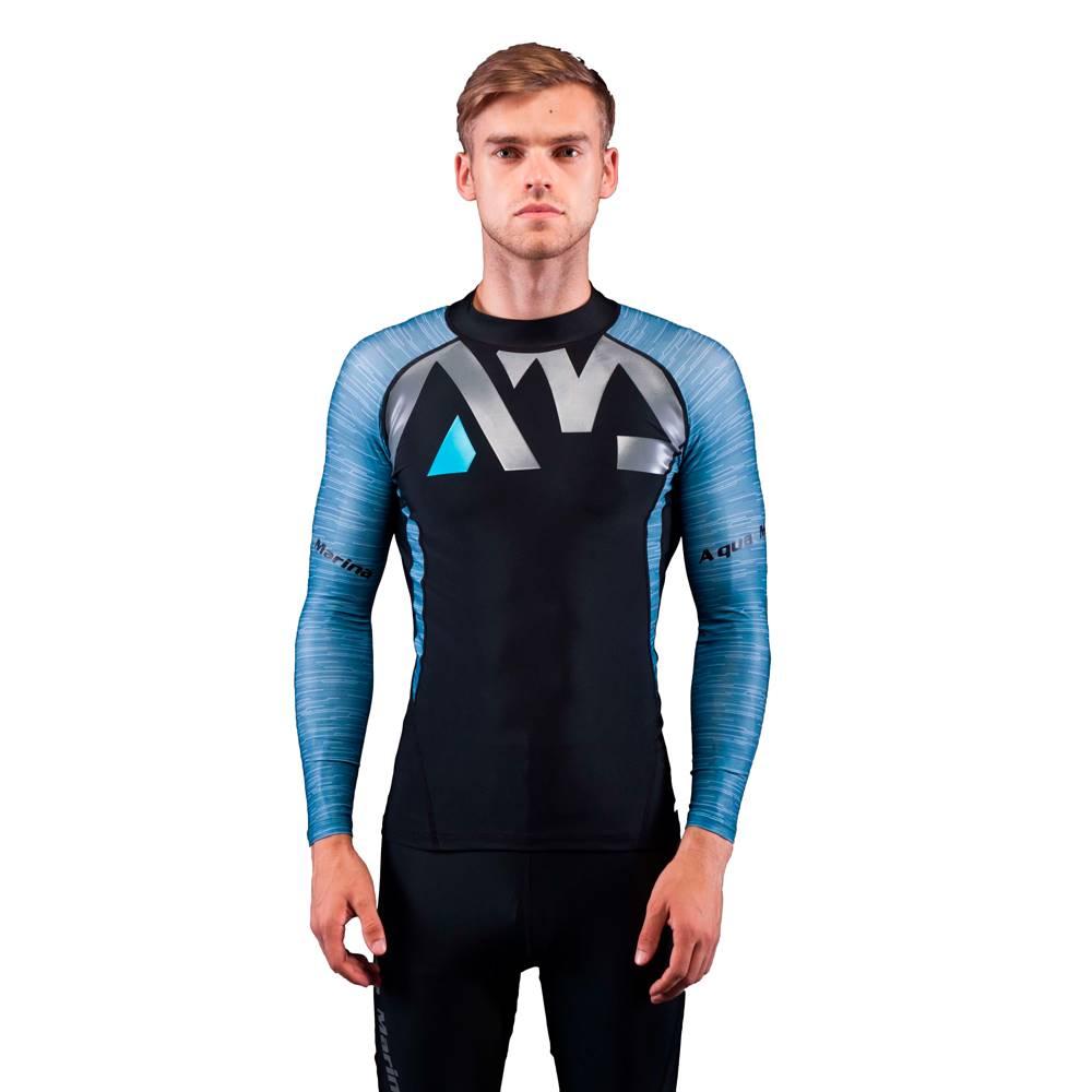 Aqua Marina Pánske tričko pre vodné športy Aqua Marina Division modrá - S