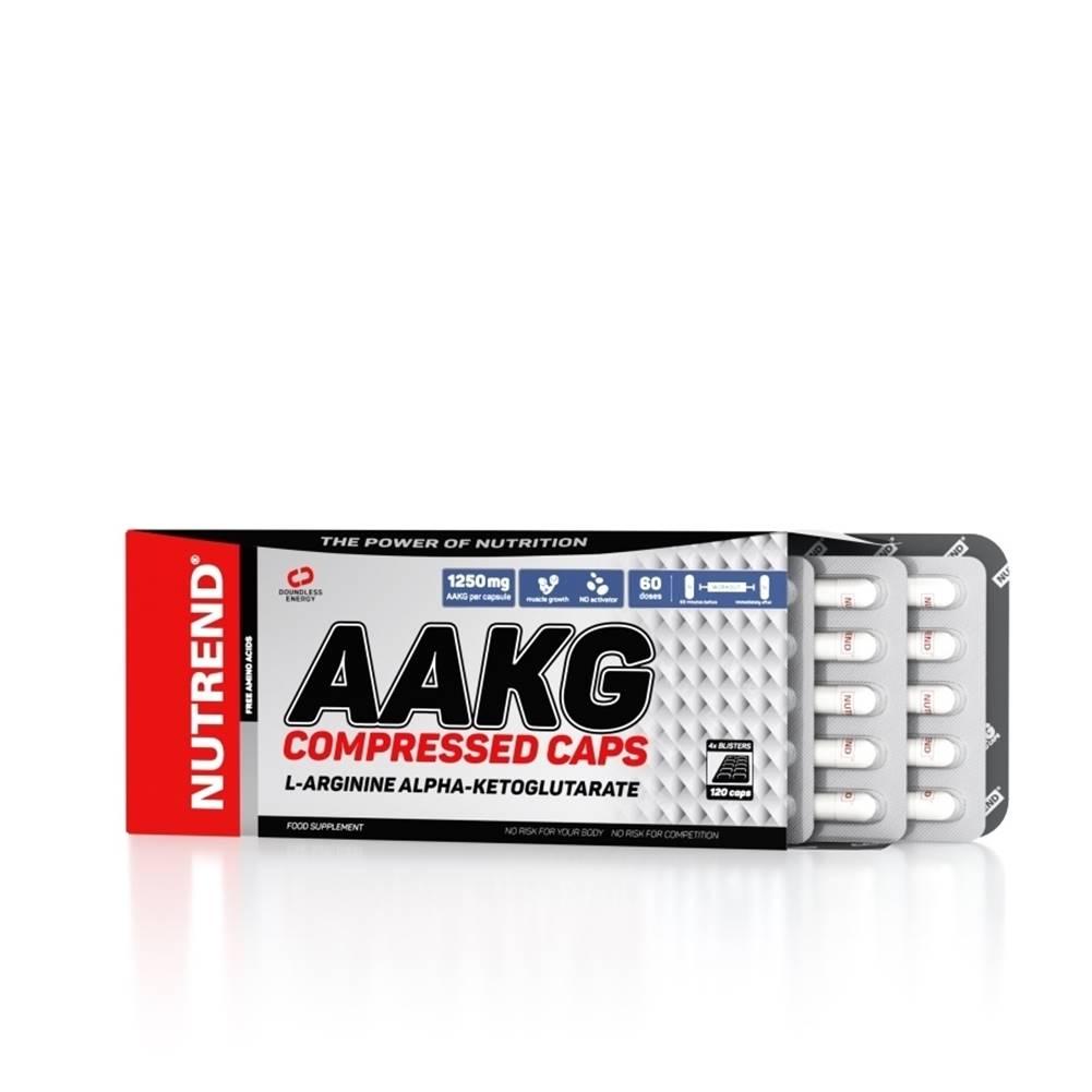 Nutrend Aminokyseliny Nutrend AAKG Compressed Caps 120 kapsúl