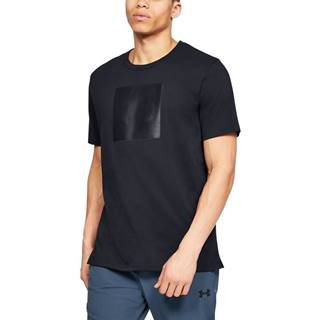 Under Armour Tričko Unstoppable Knit Tee Black  S