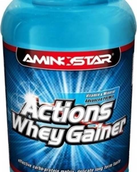 Aminostar Aminostar Whey Gainer Actions 2250 g variant: čokoláda