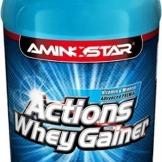 Aminostar Whey Gainer Actions 4500 g variant: čokoláda