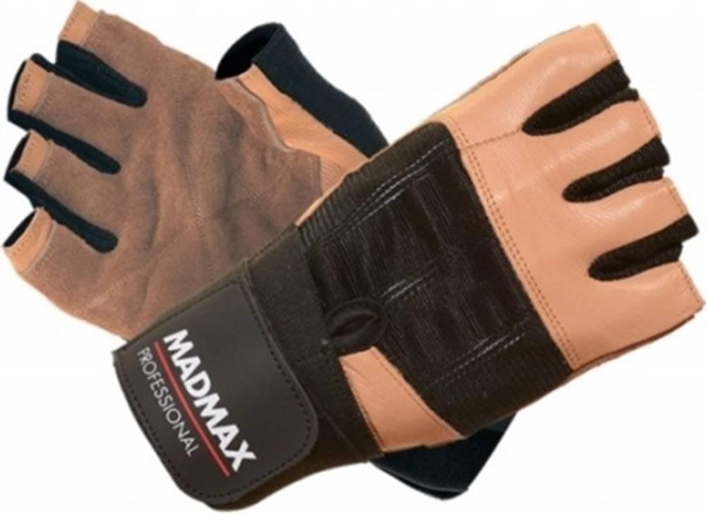 MadMax Madmax Rukavice Professional MFG269 hnedé variant: L