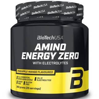 Amino Energy Zero with Electrolytes - Biotech USA 360 g Lime