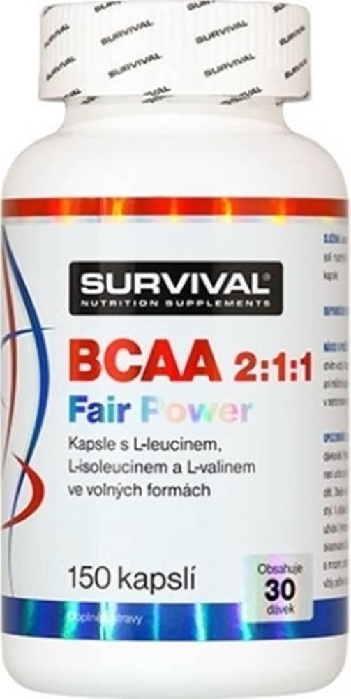 Survival Survival BCAA 2:1:1 Fair Power 150 kapsúl