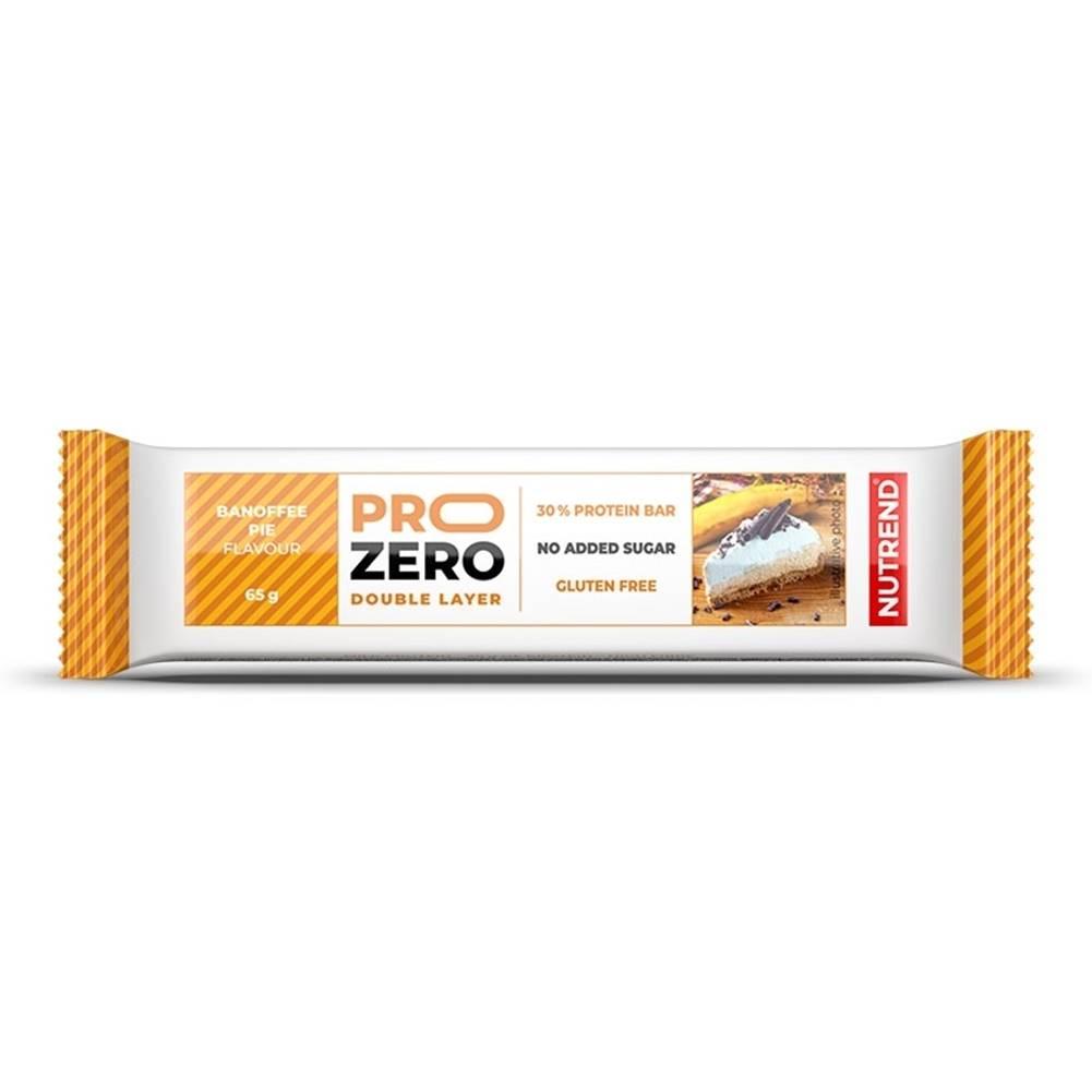 Nutrend Proteinová tyčinka Nutrend PROZERO 65g banánovo-karamelový koláč